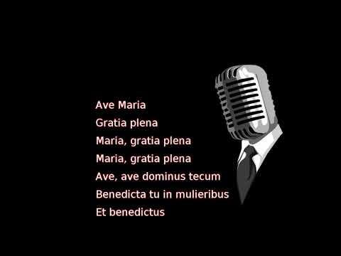 Josh Groban - Ave Maria (lyrics)