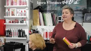 Готовый рецепт дуальной техники для седых волос