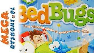 Bed Bugs • Uciekające robaczki • Hasbro Gaming • gry dla dzieci