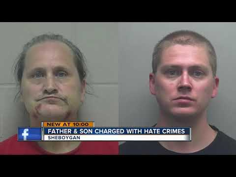 Father And Son Charged With Hate Crimes In Sheboygan