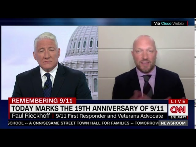 RIECKHOFF ON CNN's INSIDE POLITICS - REMEMBERING 9/11