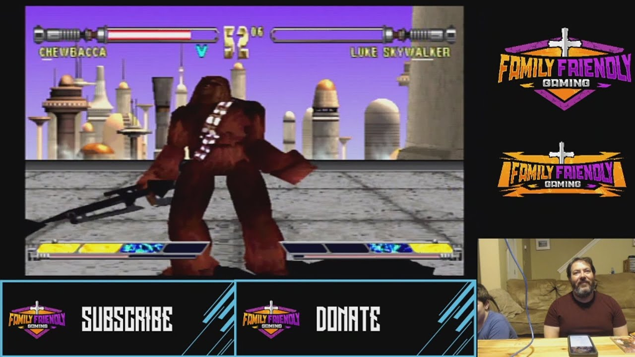 Star Wars Masters of Teras Kasi Gameplay