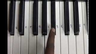 Tu Meri Song Bang Bang Piano Notes Tutorial How To Play