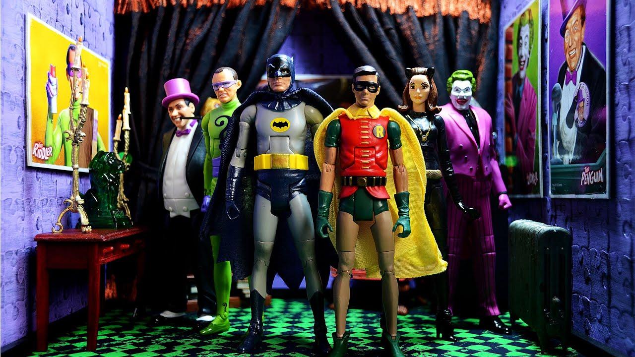 Batman Classic Tv Series Robin Joker Riddler Catwoman