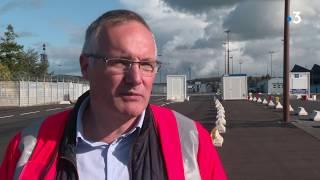 Exercice en situation de Brexit sur le port de Cherbourg