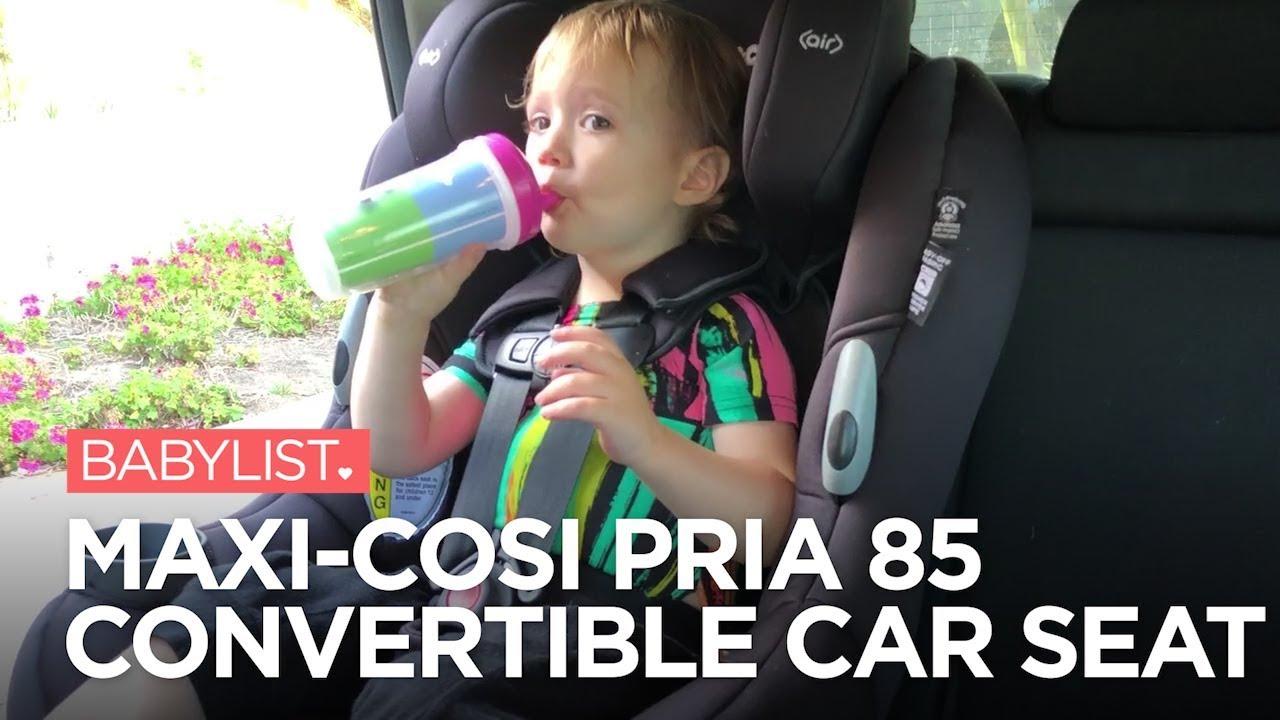 12fc33f532a Maxi-Cosi Pria 85   85 MAX Convertible Car Seat Reviews - YouTube