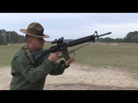 MCRD Parris Island • Instructional Weapons Handling Video