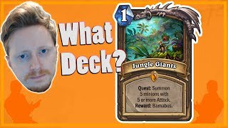 Hearthstone: Trying Quest Druid - Jungle Giants