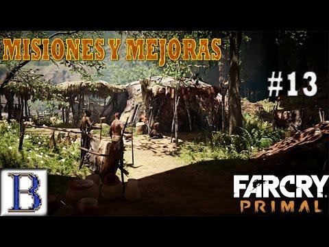 MEJORANDO LAS CHOZAS | #13 | FAR CRY PRIMAL PS4
