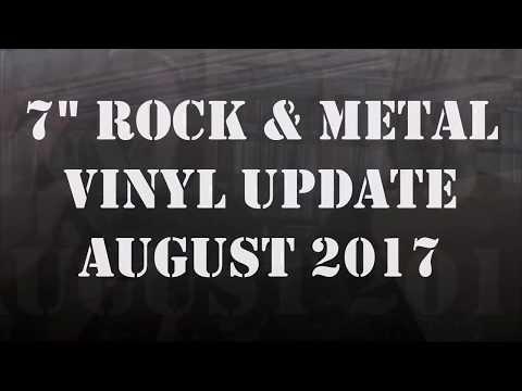 Rock & Metal Vinyl Update August 2017 w/ Bill Roxx (Roxx Records)