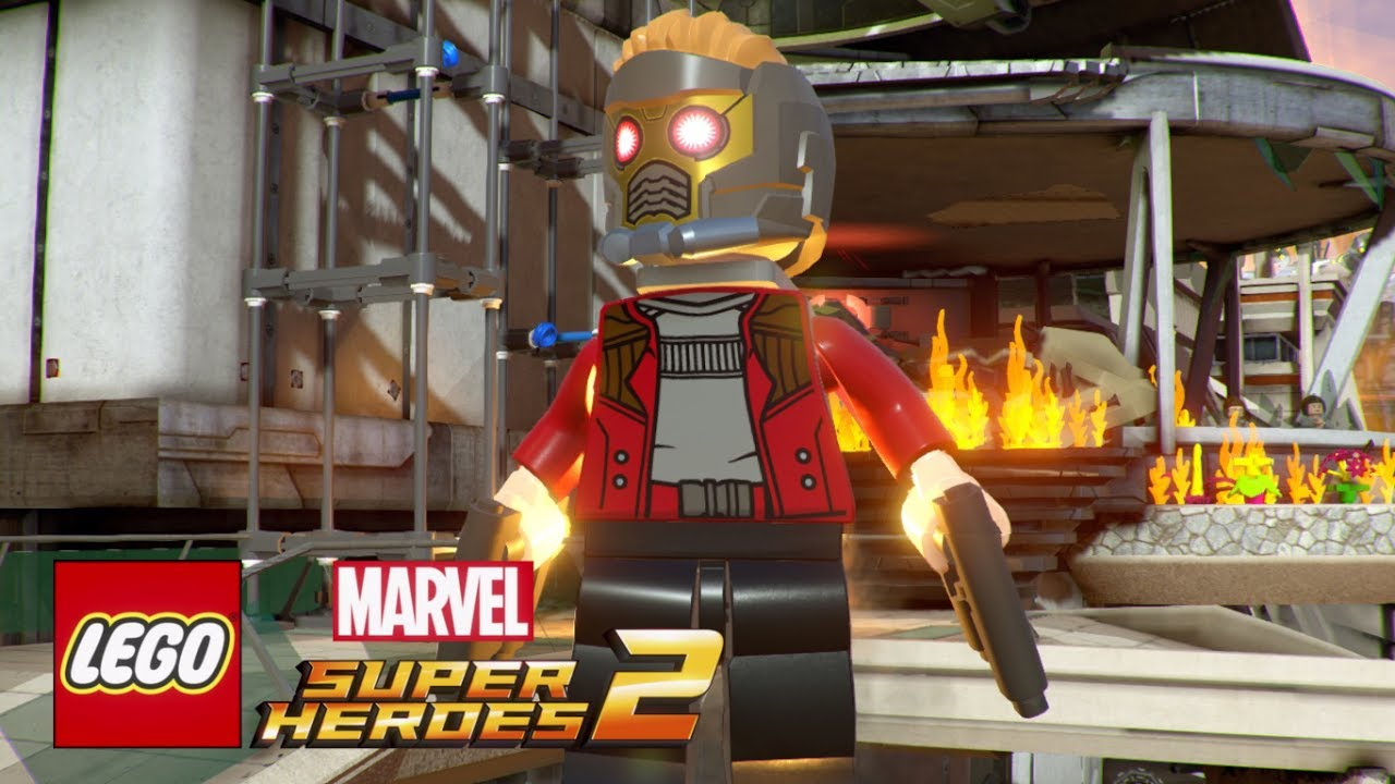 Lego Marvel Super Heroes 2 Screenshots First Level