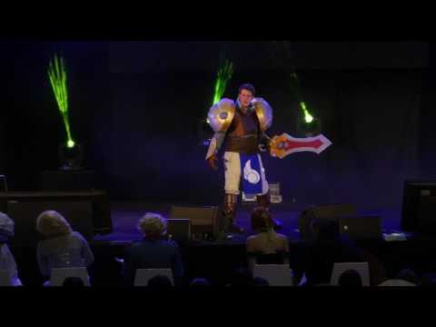 related image - HeroFestival 2016 - Marseille - Concours Cosplay - 18 - League of Legends - Garen