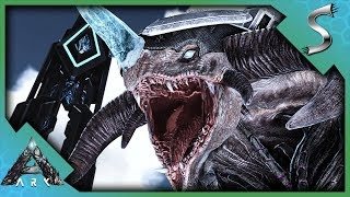 HE CAN FREEZE ANYTHING! ICE TITAN TAMING! - Ark: Extinction [DLC Gameplay]