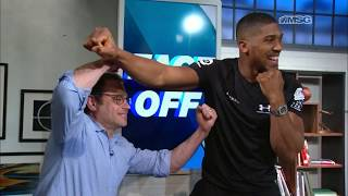 Anthony Joshua Ready for First Fight in the US at The Garden | MSG 150