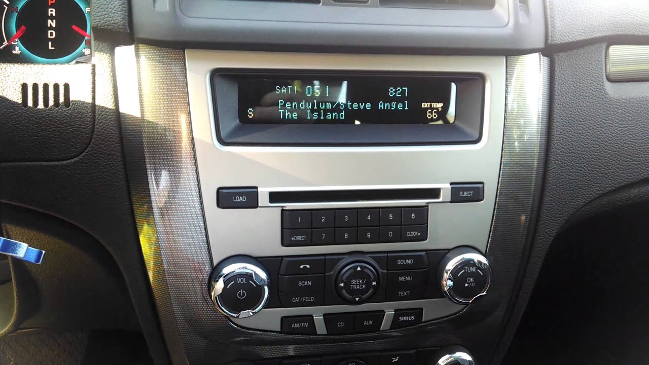 2017 Ford Fusion Sel Radio Issue