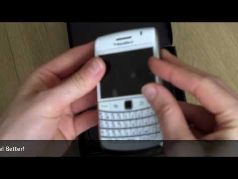 BlackBerry Bold 9700 WHITE unboxing