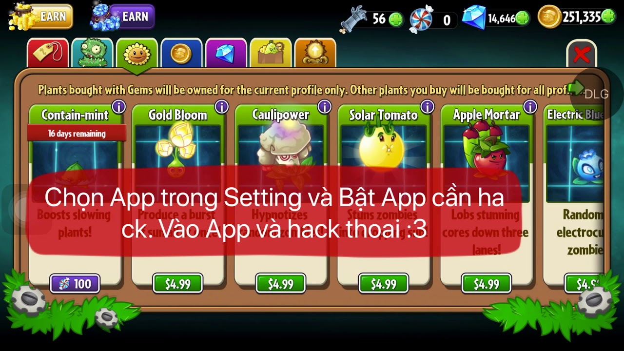 Tweak DLGMemor Injected : Hack Game và thay đổi giá trị App