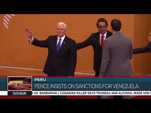 Peru Summit of Americas was a Failure