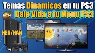 Temas Dinamicos en tu PS3 HAN HEN   Temas GUAPOS!!