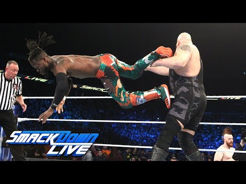 Kofi Kingston vs. Big Show: SmackDown LIVE, Oct. 23, 2018