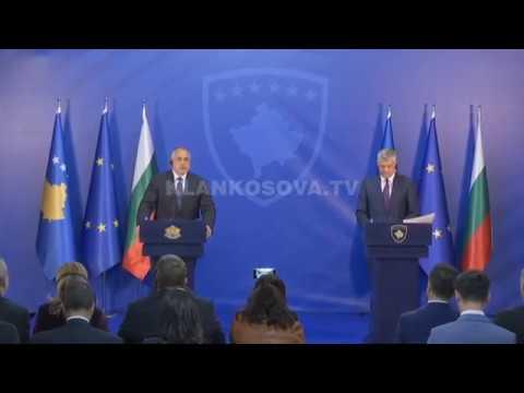 Borissov viziton Kosovë, dekorohet nga Thaçi me medalje presidenciale - 16.04.2018 - Klan Kosova
