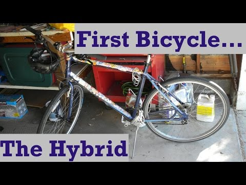 Your First Bicycle: The Hybrid