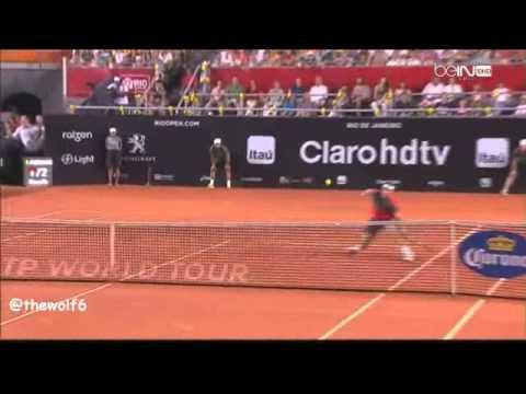 Rafael Nadal VS Alexandr Dolgopolov - Rio Open 2014 - Tie Break - 23-2-2014