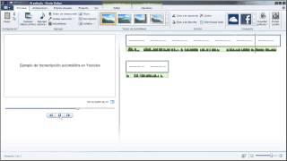 Transcripción automática de audio a texto en Youtube