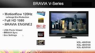 BRAVIA Sony LCD Television: L-Series, S-Series and V-Series