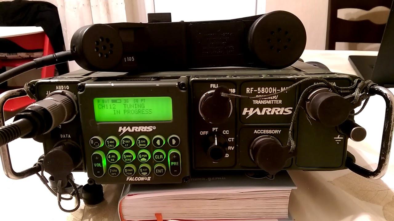 Harris RF-5800H-MP function