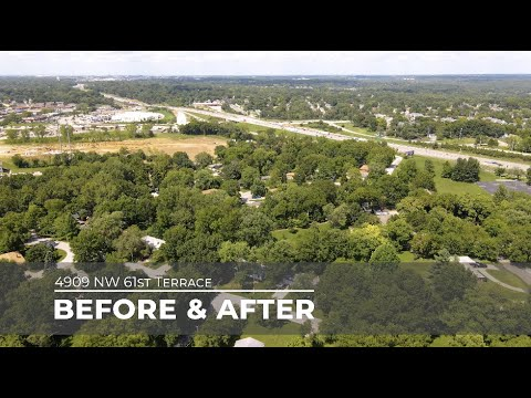 4909 NW 61st Terrace - Before and After Property Video