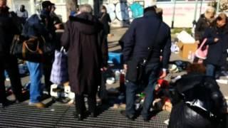 Mercatino del rubato di Piazzale dei Partigiani - 9 marzo 2014