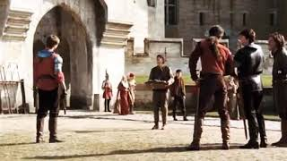 Merlin ve Arthurun ilk karşılaşması...