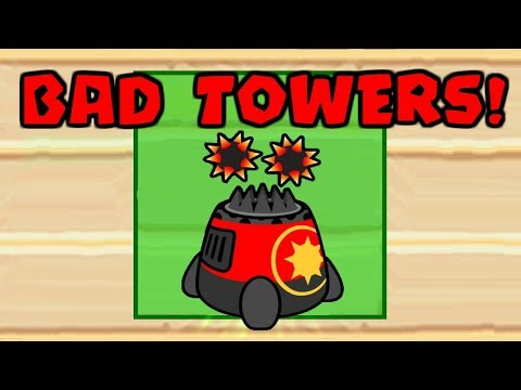 Playing Bloons TD Battles BUT You Can Only Pick Bad Towers (BTD Battles)