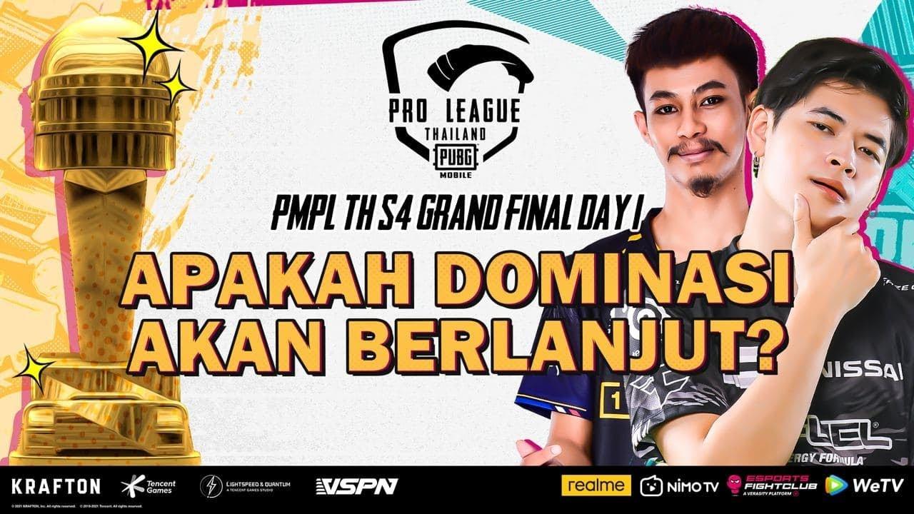 PMPL S4 Grand Final TH | Day 1 | APAKAH DOMINASI AKAN BERLANJUT?