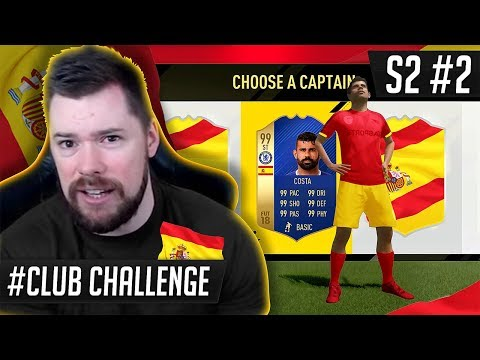 THE SPAIN NATIONAL TEAM DRAFT CHALLENGE!! - FIFA 17