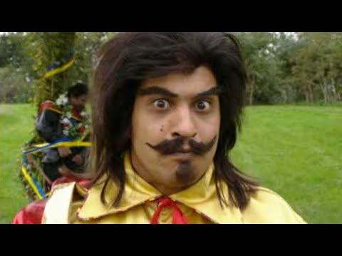 Bhangraman fights the evil Morris Dancers - Goodness Gracious Me - BBC Comedy