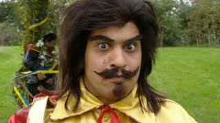 Bhangraman fights the evil Morris Dancers - Goodness Gracious Me - BBC Comedy