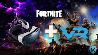 Realtà virtuale in Fortnite TUTORIAL PC #1 (Fortnite Battle Royale)