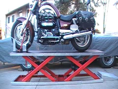 Juozo Motorcycle Air Lift Table
