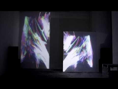 "Scott Sinclair – ""…/iiiO\."" audio-visual installation"
