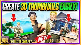 🔥 How To CREATE 3D FORTNITE SEASON 8 THUMBNAILS Like NINJA & TFUE! *EASY* (SFM Thumbnails Tutorial)