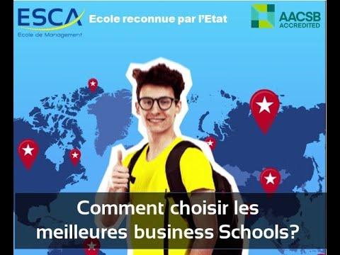 Comment distinguer les meilleures business Schools?