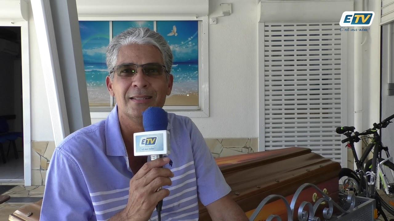 Franck Lurel a inventé le vélo-corbillard : garantie 100% écologique et made in Guadeloupe !