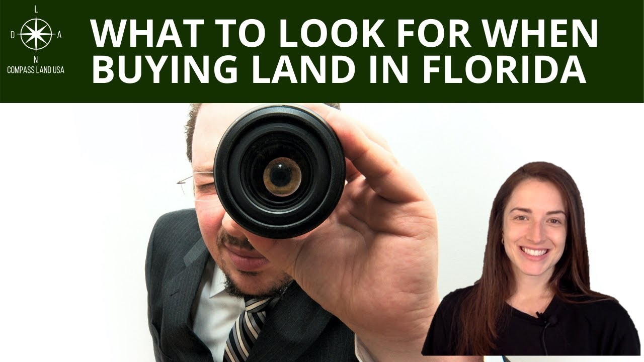 What to Look For When Buying Land in Florida