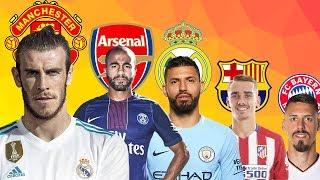 LATEST TRANSFER NEWS | Barcelona, Real Madrid, Manchester united, Arsenal, Bayern Munich