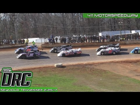 411 Motor Speedway | 2.25.17 | Frostbuster | Crate Late Model | Feature