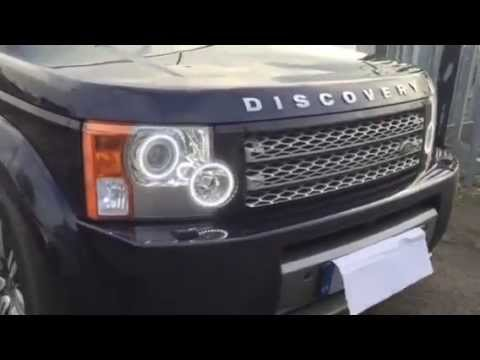 Land Rover Discovery 3 Headlight Conversion Youtube