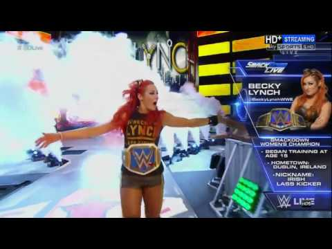 Becky Lynch WWE Women's Champion Entrance