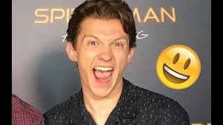 Tom Holland (Avengers: Infinity War) - Funny Moments (Best 2018★)